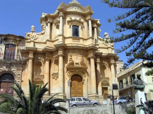 Noto, Sicilia, Italia. Author and Copyright Marco Ramerini