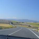 Paesaggio andaluso nei pressi di Guadix, Andalusia, Spagna. Author and Copyright Liliana Ramerini.