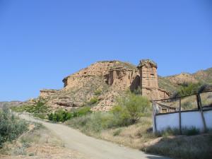 Paesaggio nei pressi di Guadix, Andalusia, Spagna. Author and Copyright Liliana Ramerini