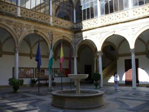 Palacio de Vázquez de Molina o de las Cadenas, Ubeda, Andalusia, Spagna. Author and Copyright Liliana Ramerini