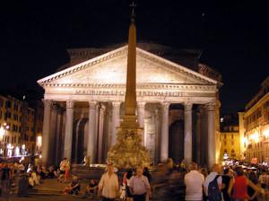 Pantheon, Roma, Italia. Author and Copyright Marco Ramerini
