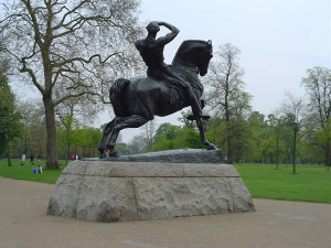 Physical Energy statua di George Frederick Watts, Kensington Gardens, Londra. Author and Copyright Niccolò di Lalla