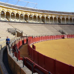 Plaza de Toros, Siviglia, Andalusia, Spagna. Author and Copyright Liliana Ramerini