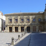 Plaza del Pópulo, Baeza, Andalusia, Spagna. Author and Copyright Liliana Ramerini