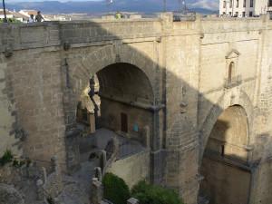 Puente Nuevo, Ronda, Andalusia, Spagna. Author and Copyright Liliana Ramerini