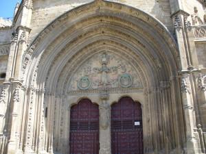 Puerta del obispo, Iglesia de San Pablo, Ubeda, Andalusia, Spagna. Author and Copyright Liliana Ramerini