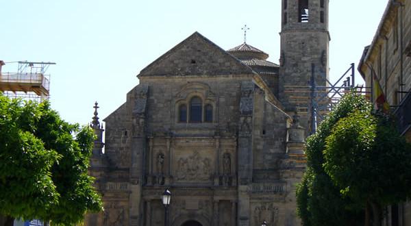 Sacra Capilla del Salvador, Ubeda, Andalusia, Spagna. Author and Copyright Liliana Ramerini