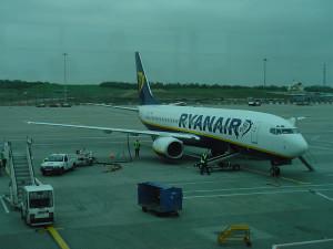 Viaggiare in aereo con i bambini. Stansted Airport, Londra. Author and Copyright Niccolò di Lalla