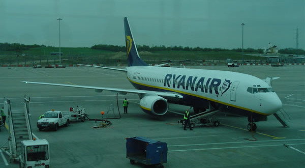 Stansted Airport, Londra. Author and Copyright Niccolò di Lalla