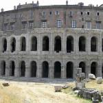 Teatro Marcello, Roma, Italia. Author and Copyright Marco Ramerini