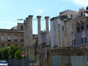 Tempio Romano di Claudi Marcello, Cordoba, Andalusia, Spagna. Author and Copyright Liliana Ramerini