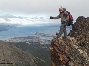Cumbre Cerro Francisco Seguí, Terra del Fuoco, Argentina. Autore e Copyright Guillermo Puliani
