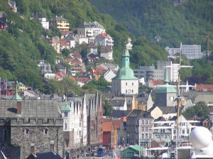 Bergen, Norvegia. Author and Copyright Marco Ramerini..