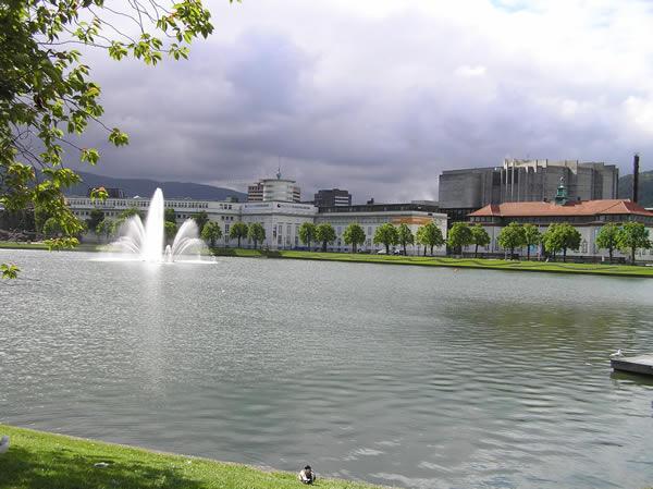 Byparken, Bergen, Norvegia. Author and Copyright Marco Ramerini..