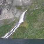 Cascata Friaren (Friarfossen), Geirangerfjord. Author and Copyright Marco Ramerini