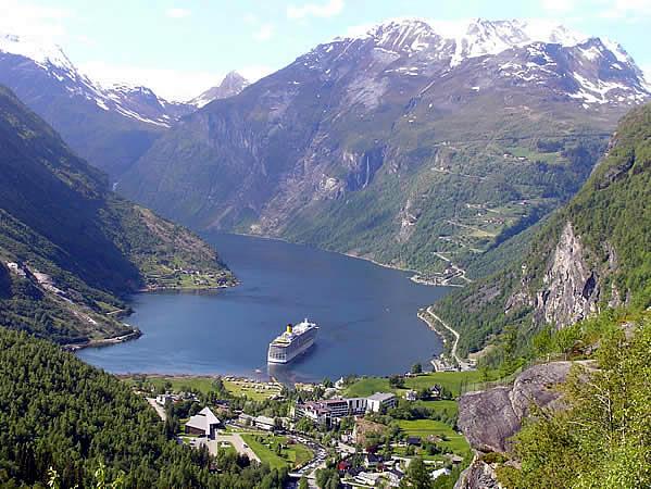 Geirangerfjord, Norvegia. Autore e Copyright Marco Ramerini