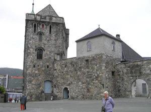 La Rosenkrantztarnet e il Portkastellet, Fortezza di Bergen (Bergenhus Festning). Author Copyright Marco Ramerini