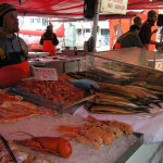Mercato del Pesce (Fisketorget) di Bergen. Author and Copyright Marco Ramerini