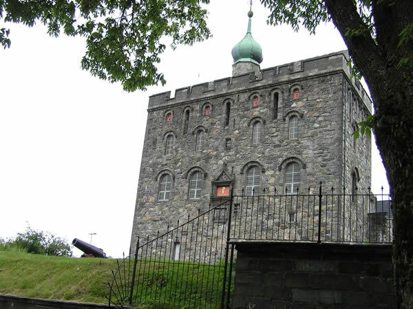 Rosenkrantztarnet, Fortezza di Bergen (Bergenhus Festning). Author and Copyright Marco Ramerini