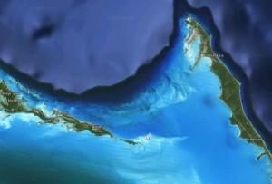Localizzazione di Sandy Cay su Google Maps
