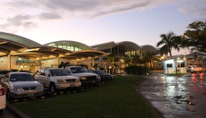 Lynden Pindling International Airport, Nassau, New Providence, Bahamas. Autore e Copyright Marco Ramerini