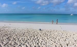 Il mare, Cape Santa Maria Beach Resort, Long Island, Bahamas. Autore e Copyright Marco Ramerini