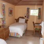L'interno di un Two-Bedroom Beachfront Bungalow, Cape Santa Maria Beach Resort, Long Island, Bahamas. Autore e Copyright Marco Ramerini.