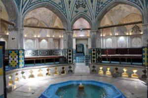 Bagno del Sultano Amir Ahmad, Kashan, Iran. Autore e Copyright Marco Ramerini
