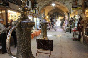 Bazar, Piazza Naqsh-e jahān, Esfahan, Iran. Autore e Copyright Marco Ramerini,