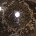 Cupolina in mattoni, Moschea del Venerdì (Moschea Jāmeh), Esfahan, Iran. Autore e Copyright Marco Ramerini