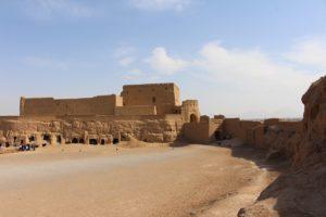 Fortezza di Narin Qal'eh, Meybod, Iran. Autore e Copyright Marco Ramerini.