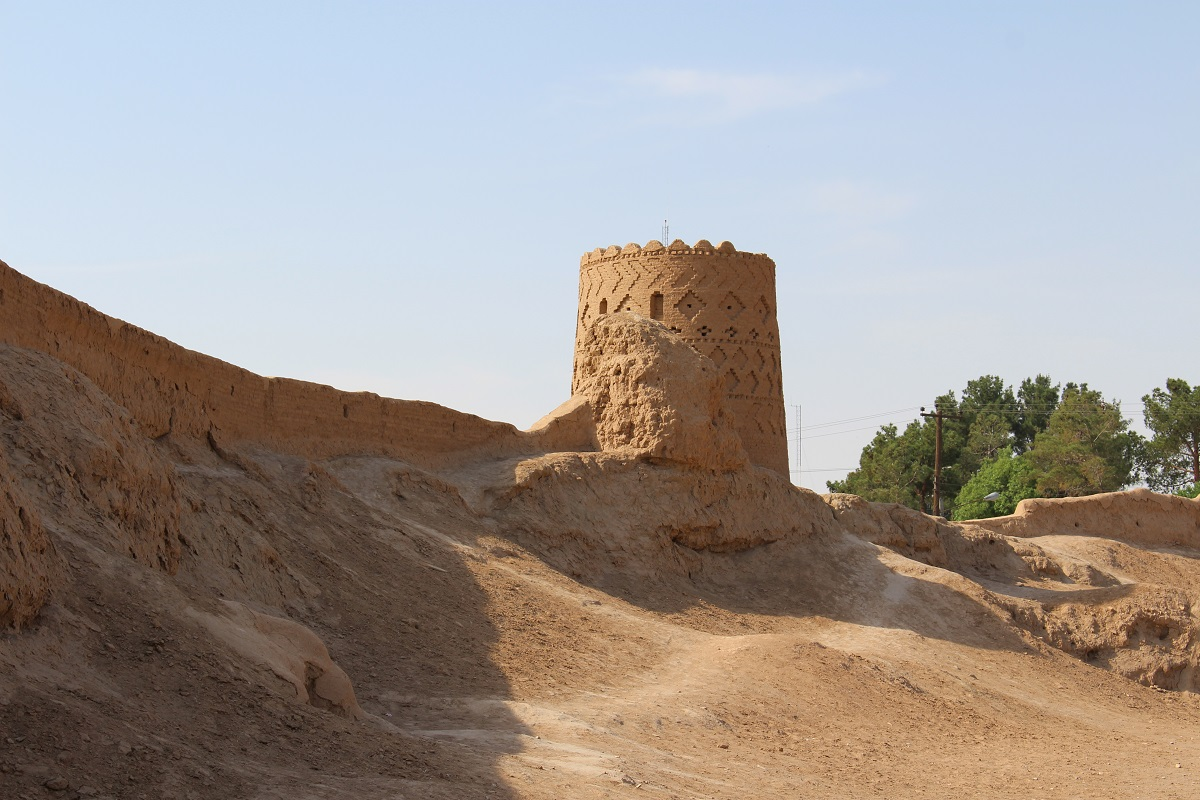 Fortezza di Narin Qal'eh, Meybod, Iran. Autore e Copyright Marco Ramerini.,