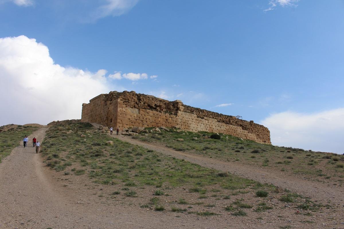 Fortezza di Tall-e Takht, Pasargade, Iran. Autore e Copyright Marco Ramerini