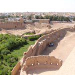 Fossato della Fortezza di Narin Qal'eh, Meybod, Iran. Autore e Copyright Marco Ramerini