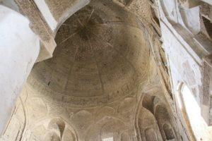 La cupola Nezam al-Molk, Moschea del Venerdì (Moschea Jāmeh), Esfahan, Iran. Autore e Copyright Marco Ramerini