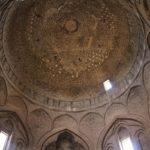 La cupola Taj al-Molk, Moschea del Venerdì (Moschea Jāmeh), Esfahan, Iran. Autore e Copyright Marco Ramerini