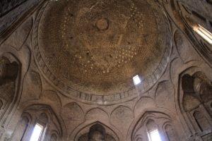 La cupola Taj al-Molk, Moschea del Venerdì (Moschea Jāmeh), Isfahan, Iran. Autore e Copyright Marco Ramerini