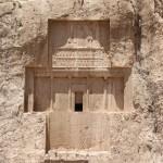 La tomba di Dario I, Naqsh-e Rostam, Iran. Autore e Copyright Marco Ramerini