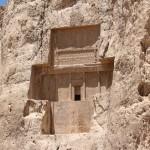 La tomba di Dario II, Naqsh-e Rostam, Iran. Autore e Copyright Marco Ramerini