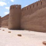 Le mura esterne della cittadella di Rayen, Iran. Autore e Copyright Marco Ramerini