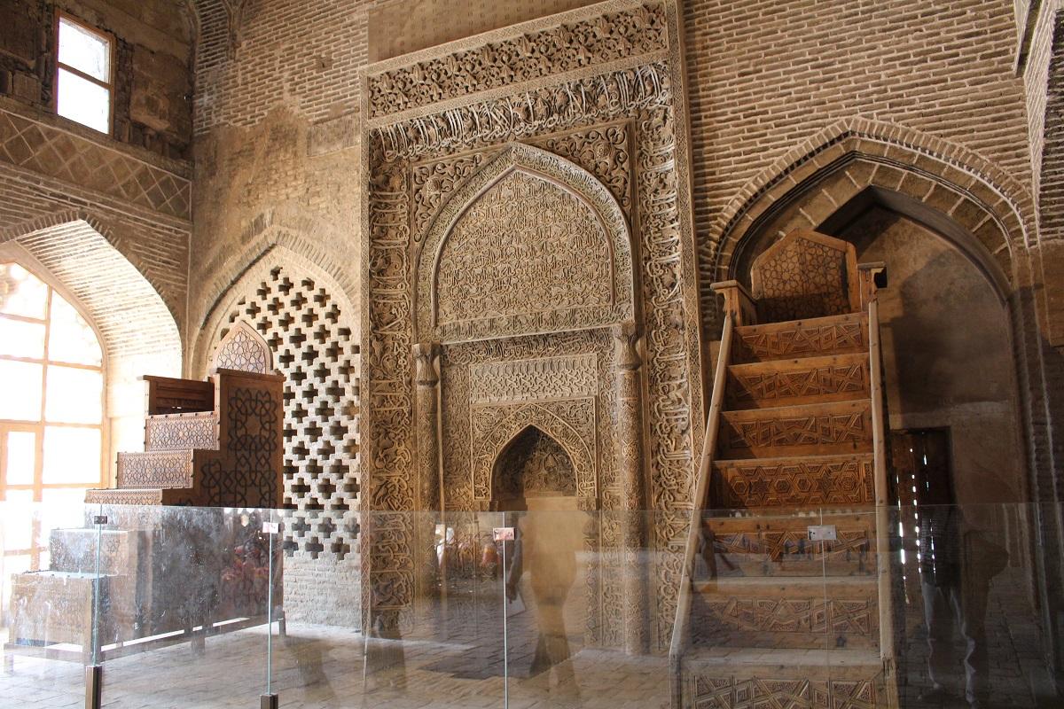 Mehrab Uljayto, Moschea del Venerdì (Moschea Jāmeh), Isfahan, Iran. Autore e Copyright Marco Ramerini