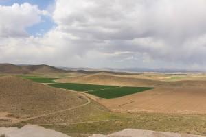 Paesaggio dalla fortezza di Tall-e Takht, Pasargade, Iran. Autore e Copyright Marco Ramerini