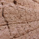 Particolare delle mura della fortezza Narin Qal'eh, Meybod, Iran. Autore e Copyright Marco Ramerini