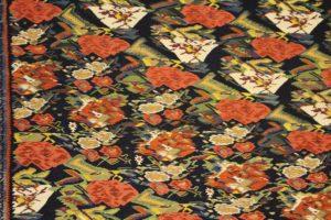 Particolare di un tappeto, Museo del Tappeto iraniano, Teheran, Iran. Autore e Copyright Marco Ramerini