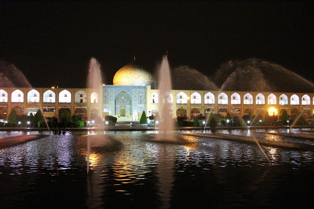 Piazza Naqsh-e jahān, Esfahan, Iran. Autore e Copyright Marco Ramerini.