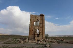 Prigione del re Salomone, Pasargadae, Iran. Autore e Copyright Marco Ramerini