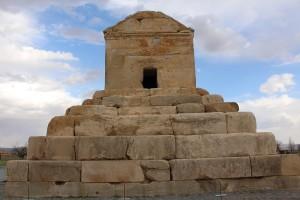 Tomba di Ciro il Grande, Pasargade, Iran. Autore e Copyright Marco Ramerini