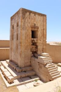 Torre Ka'bah di Zoroastro, Naqsh-e Rostam, Iran. Autore e Copyright Marco Ramerini