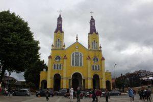 Iglesia de San Francisco, Castro, Isla Chiloe, Cile. Autore e Copyright Marco Ramerini