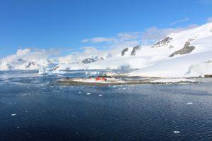 La base cilena antartica González Videla, Waterboat Point, Paradise Harbor, Antartide. Autore e Copyright Marco Ramerini